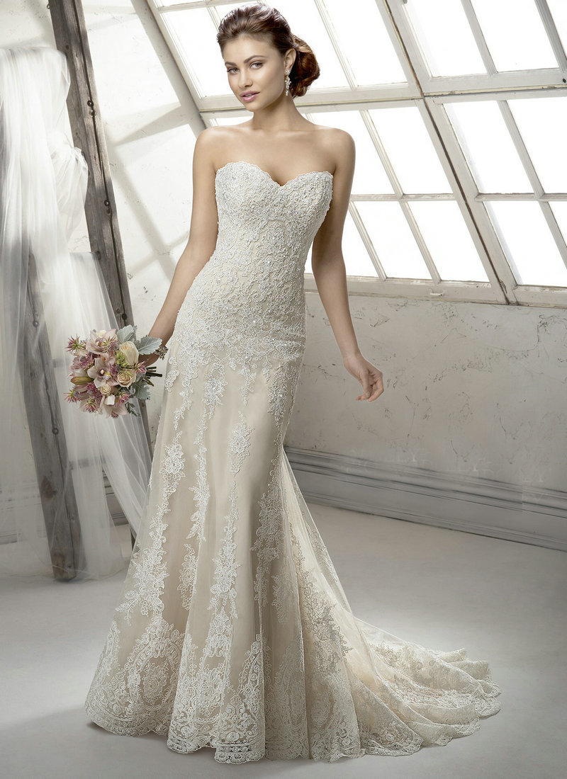 Wedding Dresses With Removable Sleeves 13