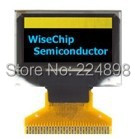 0.96 inch 30PIN SPI Yellow Blue OLED Screen SSD1306 Drive IC 128*64 I2C / Parallel Interface(China (Mainland))