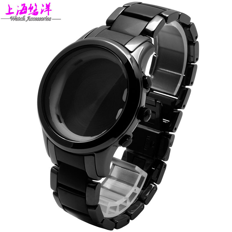 Watch accessories really black case adaptation of AR1452 ceramics can be a single buy dial and a watchband<br><br>Aliexpress