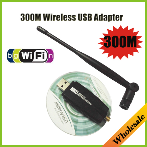 New RT8191 Mini 300M 2.4Ghz usb wifi wireless network networking Lan Card Adapter with Wi-fi Antenna,Wholesale Free Shipping(China (Mainland))