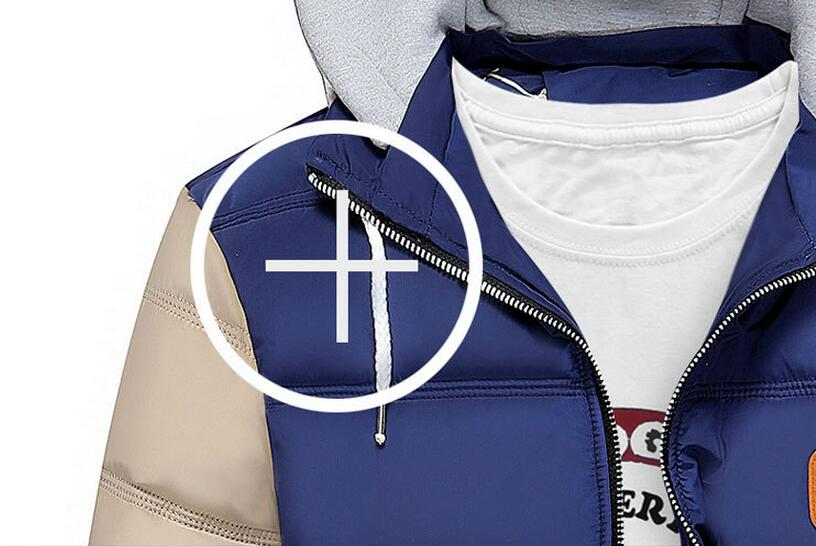 Скидки на Мужчины лоскутное куртка Мужчины Куртку Теплый хлопок пальто мужские случайные капюшоном куртки Красивый И Пиджаки Куртка Плюс размер XXXL Пальто AMD466