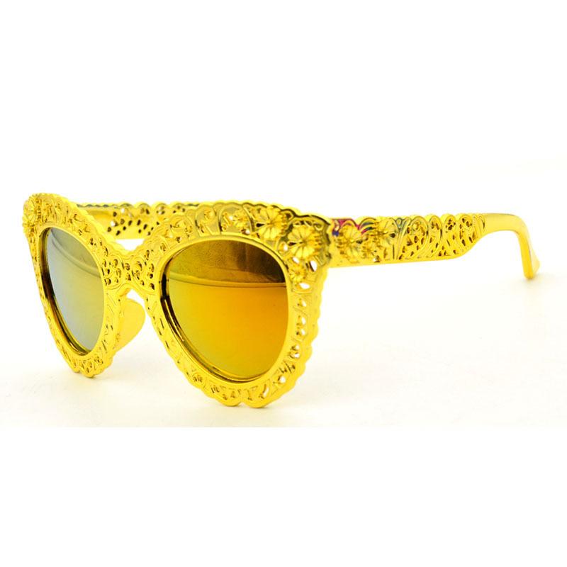 2015 new style selling Baroque children's Sunglasses manufacturers direct retro plastic children's Sunglasses(China (Mainland))