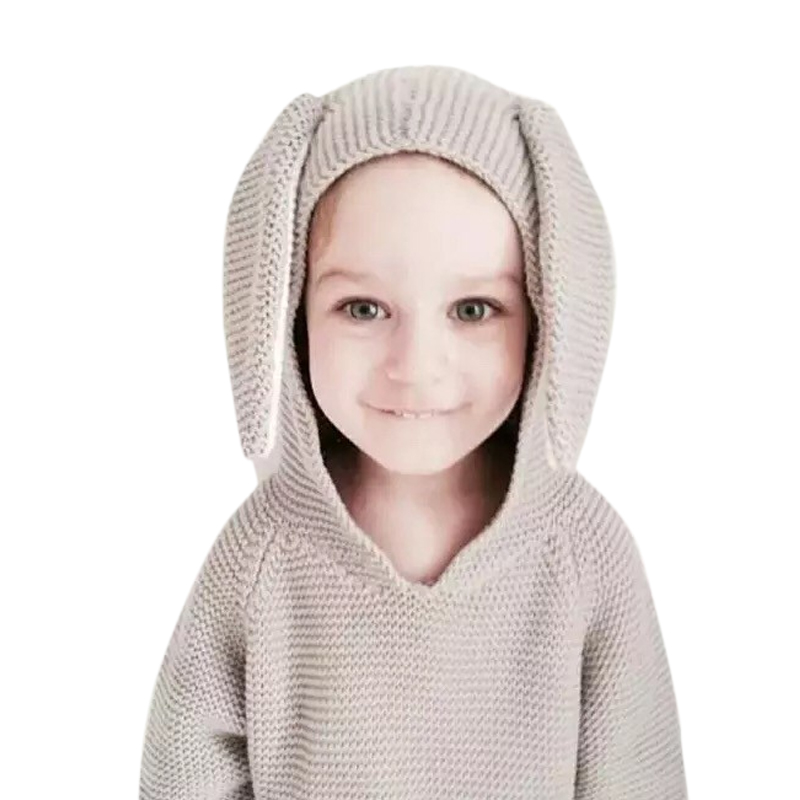 Baby Hoodies For Girls Boy Clothes Winter 2015 Casual Nyc Kids Knitwear Rabbit Jumper Pullover Cute Children Sweater Jacket<br><br>Aliexpress