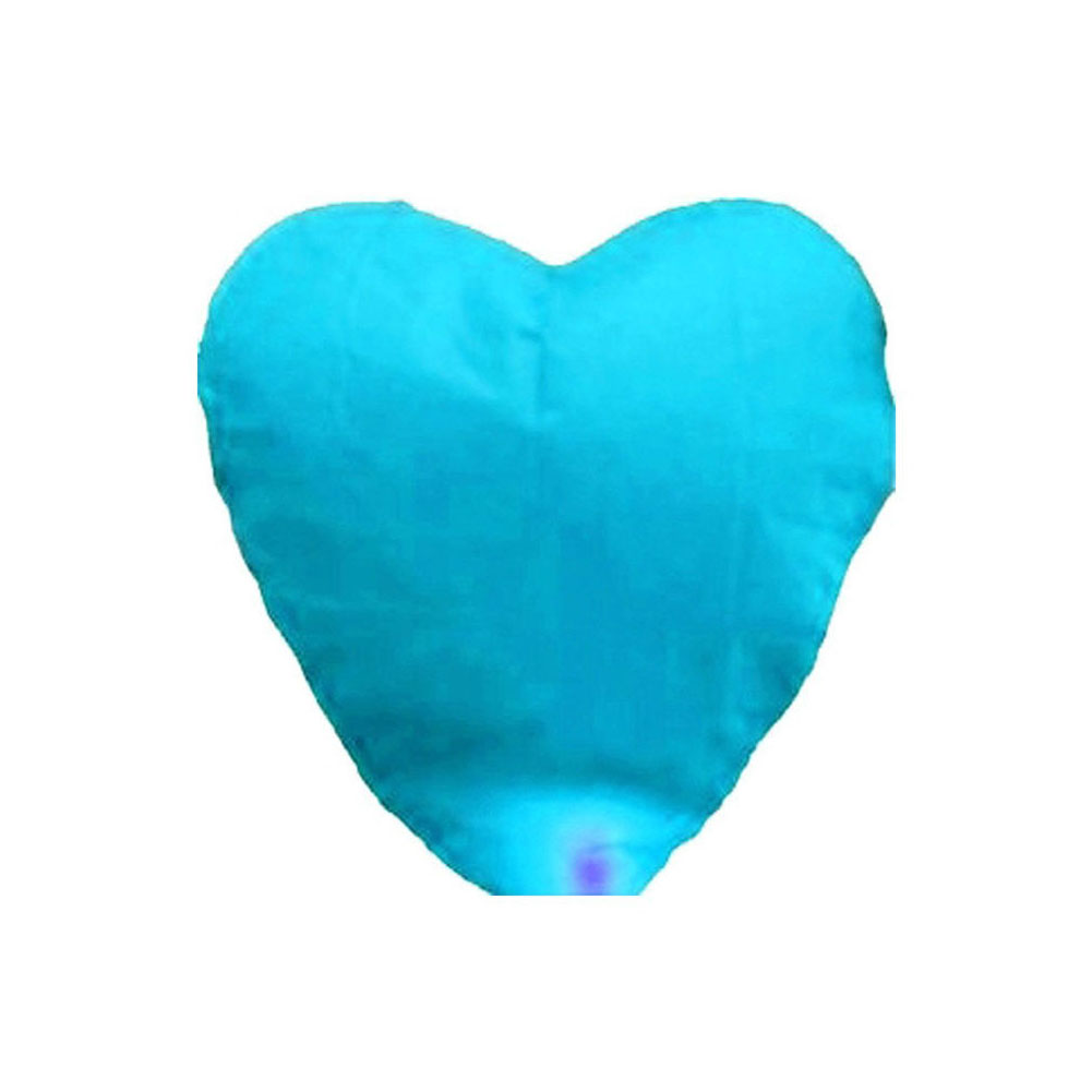 Chinese Traditional Love Heart KongMing Sky Lanterns of Wishing Lamp Cute Love Heart Sky Lantern For Birthday Party(China (Mainland))