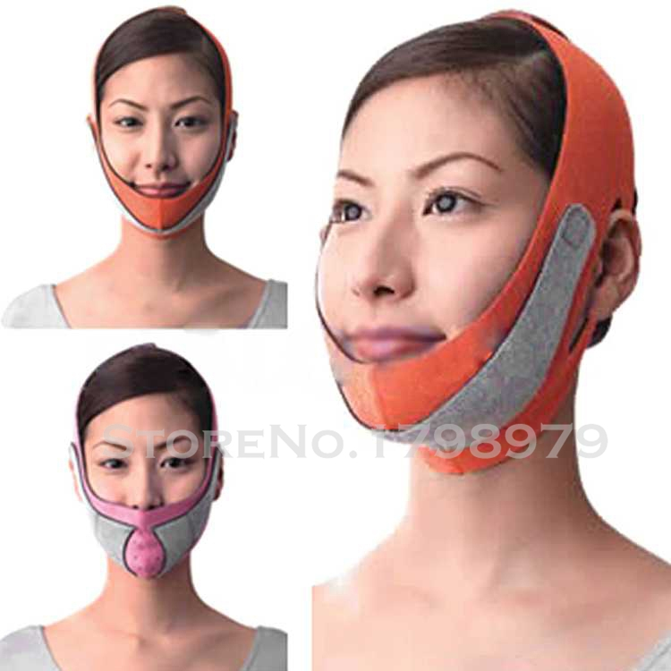 Free shipping 10pcs Slimming Face Mask Shaping Cheek Uplift Slim Chin Face Belt Health Care Weight Loss Products Massage(China (Mainland))