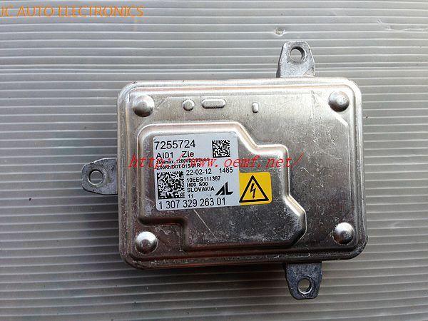 63127255724/7255724 10-12 X3 F25 E70 X5 Xenon Headlight BALLAST HID CONTROL UNIT ECU MODULE(China (Mainland))