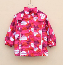 2014 Retail wind and rain in spring and autumn topolino girls trench coat jacket free shipping