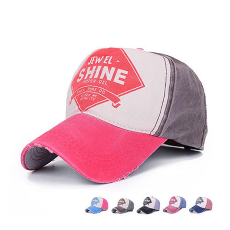 Women and Men Baseball Caps Letter SHINE Snapback Caps Adjustable Peak Hats Hip Hop Caps(China (Mainland))