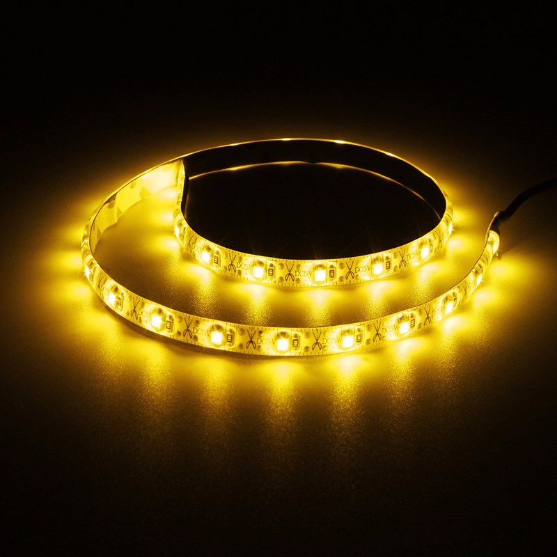 Lowest Price 50cm USB Cable 3528 SMD 30 LED Strip Light Lamp PC TV Background Lighting Kit Waterproof IP65 DC5V(China (Mainland))