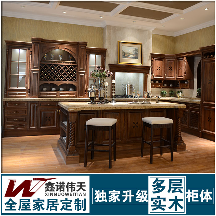 Buy chinese style classical home modular for A one kitchen cabinets ltd