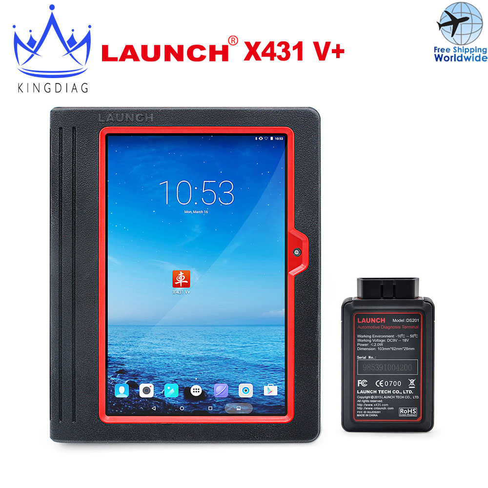 New Bluetooth Global Version Launch X431 V+ Full Set Free Update Launch X-431 V plus diagnostic tool diagun scanner(China (Mainland))