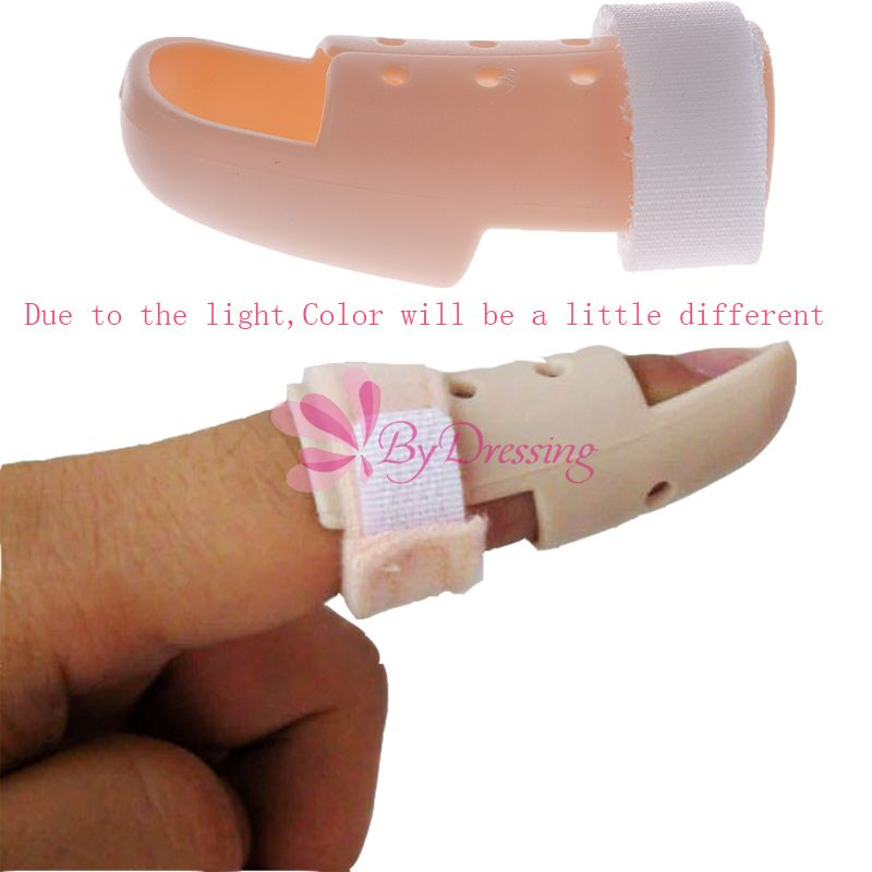 New Plastic Mallet DIP Finger Supports Brace Splint Joint Protection Injury 01 #54099