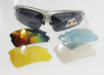 wholsale Bike RX Sunglasses Prescription Cycling Sun Shades 5 Lens Sports Glasses Polarized Fishing Golf gafas de sol oculos