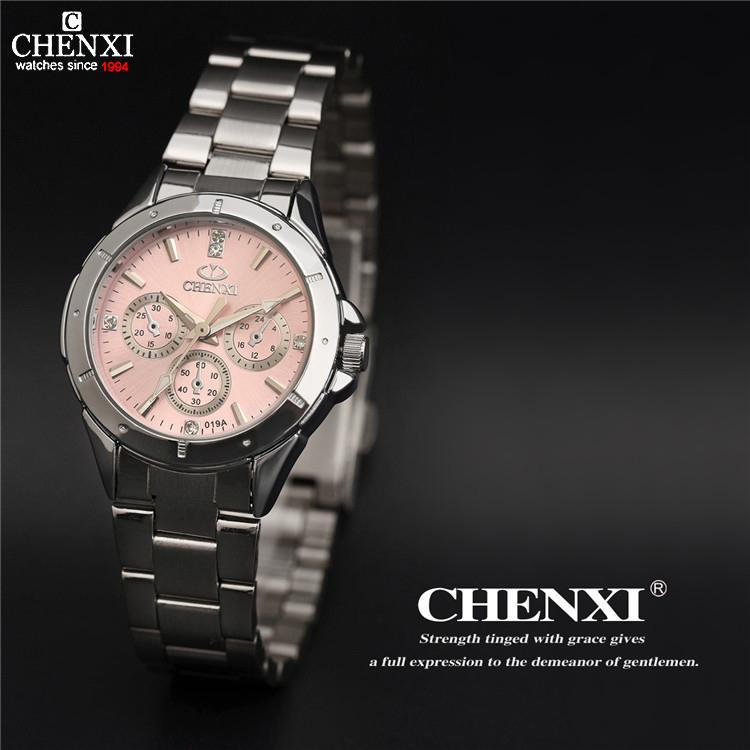 CHENXI watch women fashion luxury watch Reloj Mujer Stainless Steel Quality Diamond Ladies Quartz Watch Women Rhinestone Watches(China (Mainland))