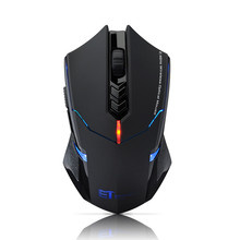 VicTsing ET X-08 Adjustable 7 Button Computer Mice 2.4G Wireless Professional Gaming Mouse For Desktop Laptop With Backlight