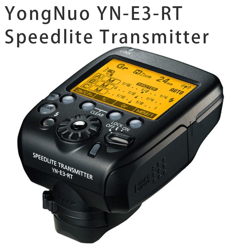 Фотография YONGNUO YN-E3-RT TTL Radio Trigger Speedlite Transmitter as ST-E3-RT for Canon 600EX-RT,YONGNUO YN600EX-RT