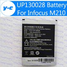 Battery For Infocus M210 Original 2350mAh Li- Polymer UP130028 Backup Battery For Foxconn Infocus M310 infocus M310+ Free shipp(China (Mainland))
