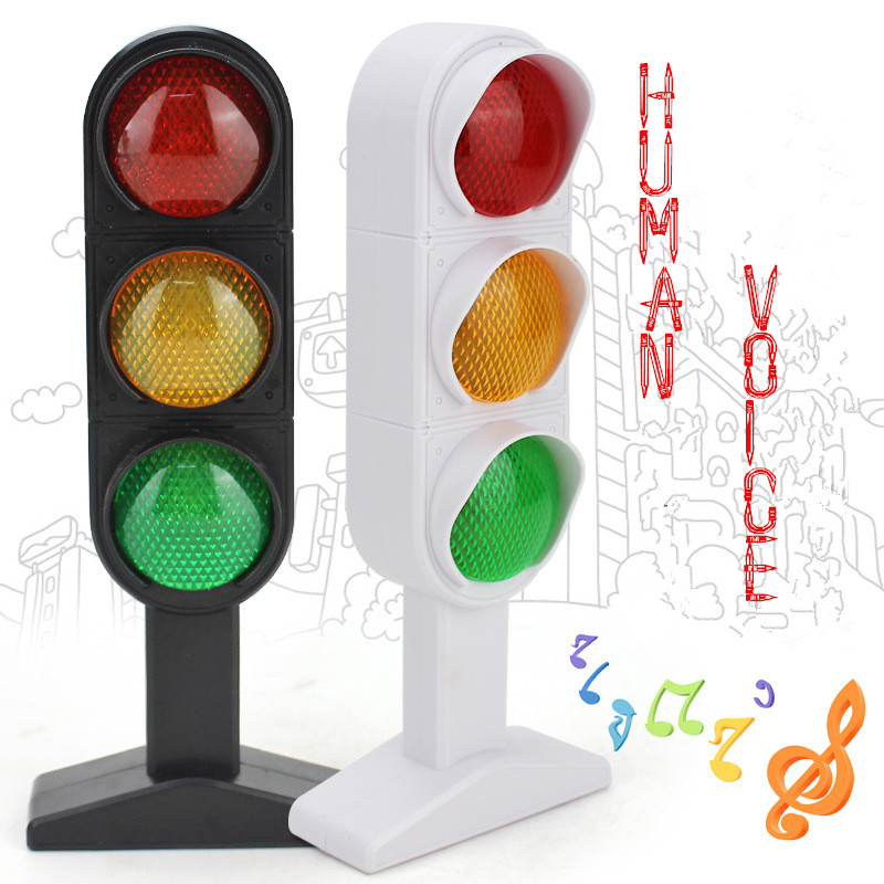 2016 Toys For Children Educational Electronic Kids Toys Human Voice Mini Car And Train Traffic Lights Carros Toy Car Brinquedos(China (Mainland))