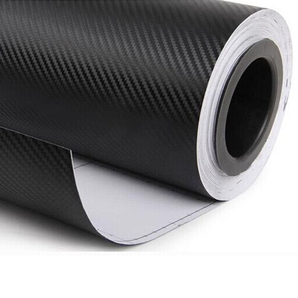 30cmx127cm 3D Carbon Fiber Vinyl Car Wrap Sheet Roll Film Car Stickers And Decals Motorcycle Car styling Accessories 12 colors(China (Mainland))