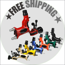 Rotary Tattoo Machine Gun 7 Colors Available for tattoo equipment kits Tattoo Kits Supply free shipping(China (Mainland))