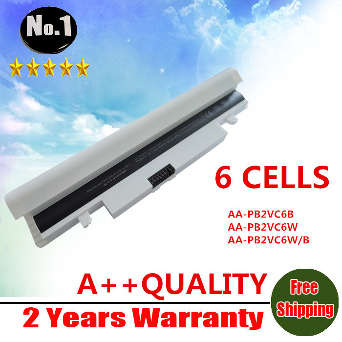 Wholesale new 6CELLS laptop battery for Samsung  N150 NT-N150 NP-N150 NP-N148 NT-N148 SERIES AA-PL2VC6B AA-PL2VC6W Free shipping<br><br>Aliexpress