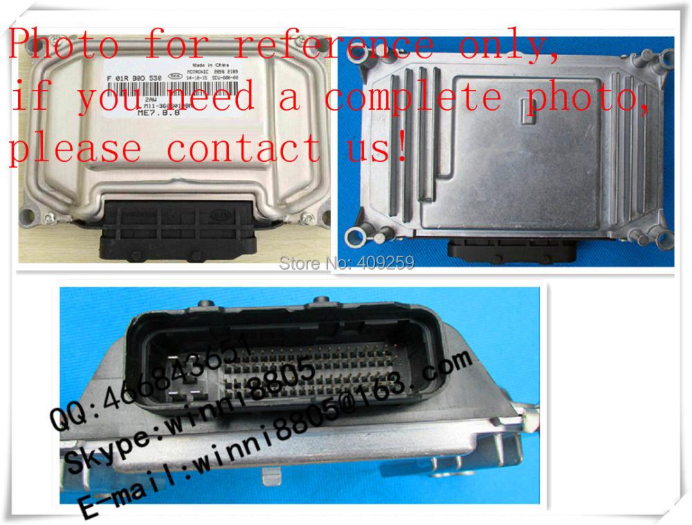 For Chery car engine computer board / car pc / Engnine Control Unit (ECU) / F01RB0D709 / M11-3605010BA(China (Mainland))