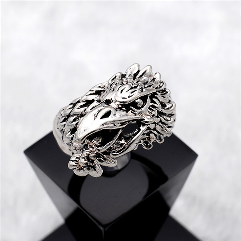 Free shipping top fashion mens biker rings stainless steel Vintage style fashion rings