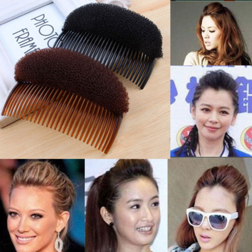 Гаджет  Hot Fashion Women Hair Clip Styling Bun Maker Braid Tool Hair Accessories Comb None Одежда и аксессуары