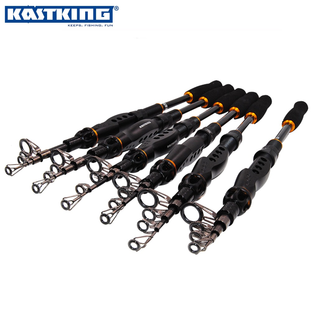 KastKing Telescopic Fishing Rod Pole Carbon High Quality Carbon Fiber Carbon Spinning Boat Rock Sea Rod Fishing Tackle Tools(China (Mainland))