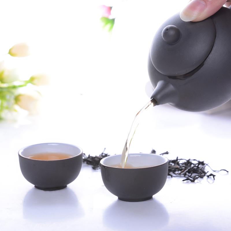 Super Hot summer style teapot purple cup summer style travel tea gong fu tea three sets