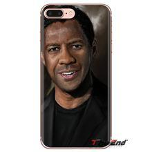 Denzel Washington para Huawei Mate Honor 4C 5C 5X6X7 7A 7C 8 9 10 8C 8 fundas transparentes suaves X 20 Lite Pro(China)