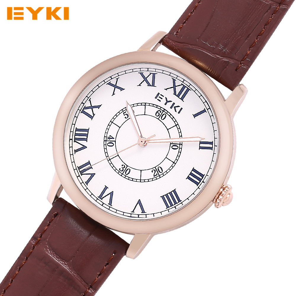 Men Women Watch EYKI Luxury Brand Fashion Lover Quartz Watch Relojes Mujer Hombre Clock Wrist Watches For Mens Womens Watch 2016(China (Mainland))