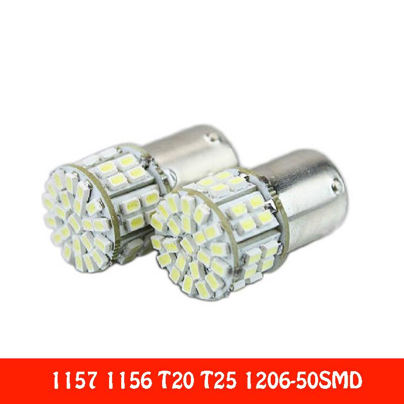 2016 General Car LED Back Brake lights Fog lamps turn signal modulation 12v Car 1157/11567/T20/T251206-50SMD LED light <br><br>Aliexpress