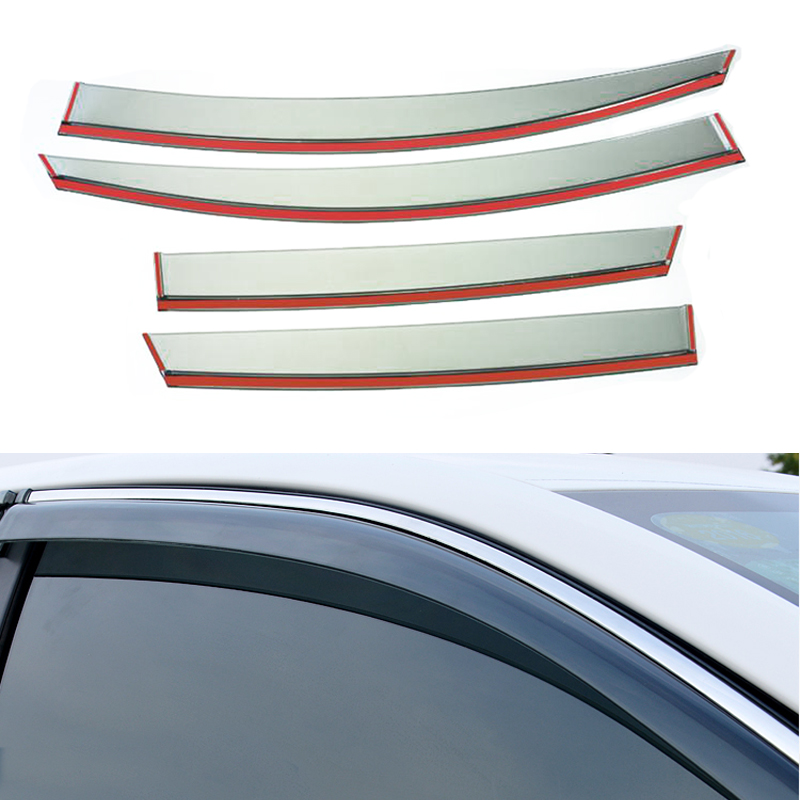 4pcs/lot Car Styling Vent Shade Sun Rain Guard Cover Window Visor For Buick Opel Insignia 2014 2015 Accessories High Quality<br><br>Aliexpress