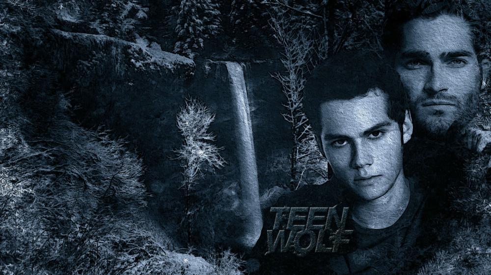 MTV's Teen Wolf Tyler Hoechlin Dylan O'Brien Derek Hale ...