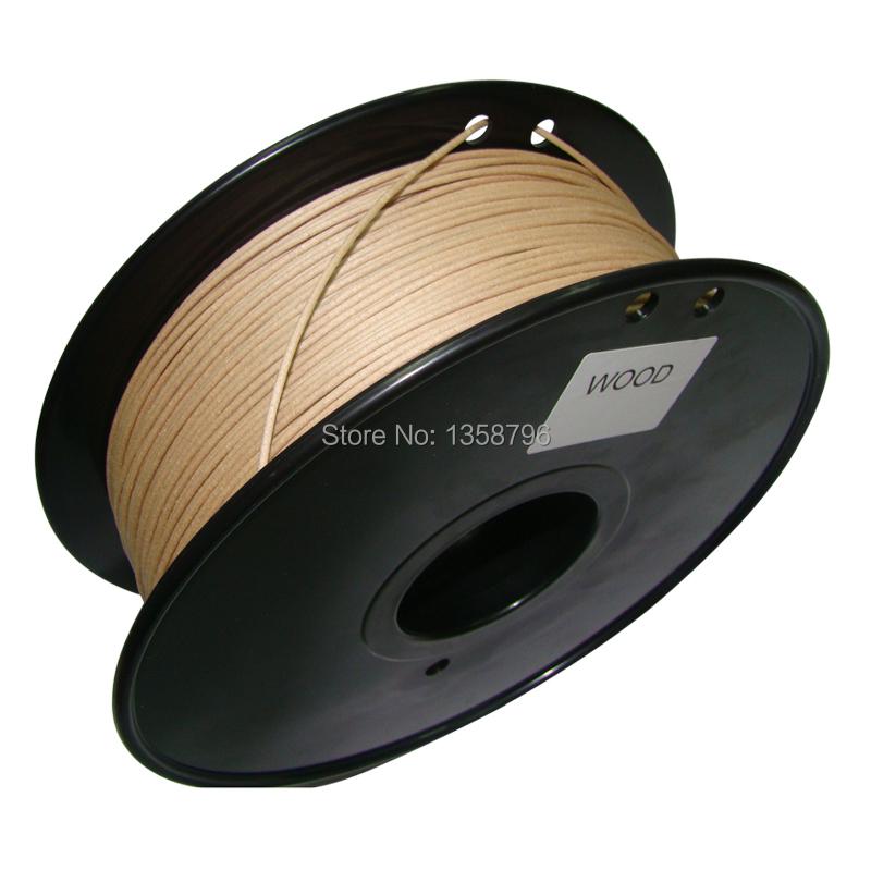 wood color 3d printer filament Wood 1 75mm 3mm 0 8kg Consumables Material MakerBot RepRap UP