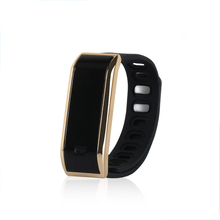 TW07 Bluetooth 4 0 Smartband IP67 Waterproof OLED Screen Smart Wristband Watches Sport Bracelet Self Selfie