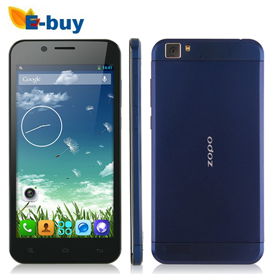 100% Original ZOPO ZP1000s MTK6582 Cortex A7 Quad Core 1.3GHz Android 4.4 32G ROM 5 inch1280*720 IPS 8MP 7.2mm OTG WCDMA 3G Phone - E-Buy Store store