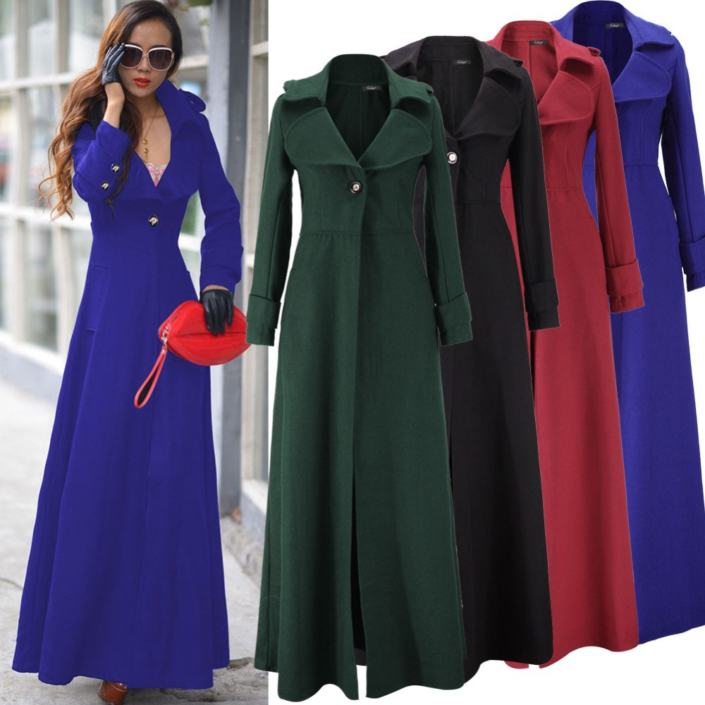 Ladies Full Length Wool Winter Coats Coat Nj