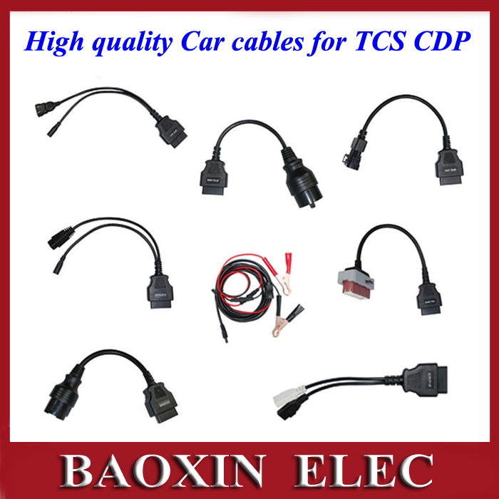 High quality 8 piece car cables for  TCS CD...