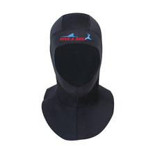 Brand 3mm Neoprene Scuba Diving Cap With Shoulder Snorkeling Equipment Hat Hood Neck Cover Winter Swim Warm Wetsuit Protect Hair(China (Mainland))
