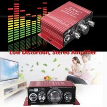 Car Electronics Mini 2CH Hi-Fi Stereo Amplifier Booster DVD MP3 Speaker for Car Motorcycle Home Stereo Amplifier 20W 200mv 47K(China (Mainland))
