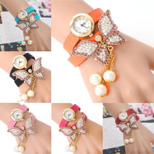 Watch With Pearl Bracelet Band Bracelet Band Quartz Watch