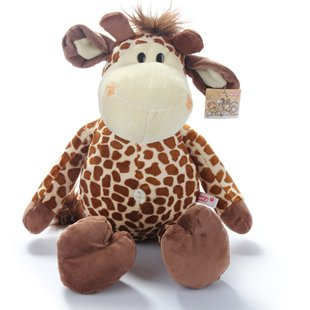 wholesale toy-gift Authentic German Nici plush toy giraffe deer misty jungle brothers 35cm free shipping(China (Mainland))
