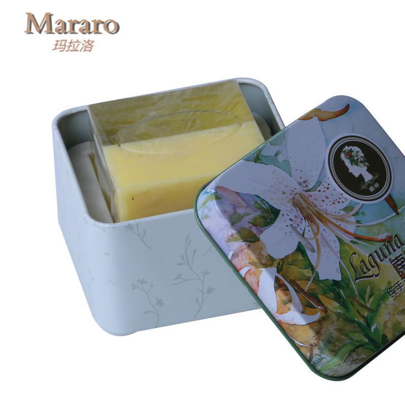 100g Cantaloupe handmade melon essential oil soap skin whitening soap for Wrinkle Moisturizing Elastic skin(China (Mainland))