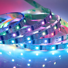 WS2801 LED strip Work With Raspberry Pi control LED strip For Arduino Development Ambilight TV White Or Black PCB(China (Mainland))