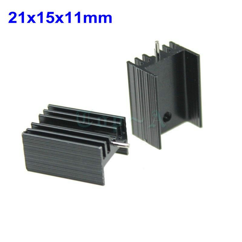 50pcs 21x15x11mm to 220 ic heat sink radiator cooler for Ecksofa 220 x 220