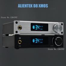 ALIENTEK D8 digital amplifier XMOS USB DAC decoder / sound / optical / coaxial HiFi amplifier class d(China (Mainland))