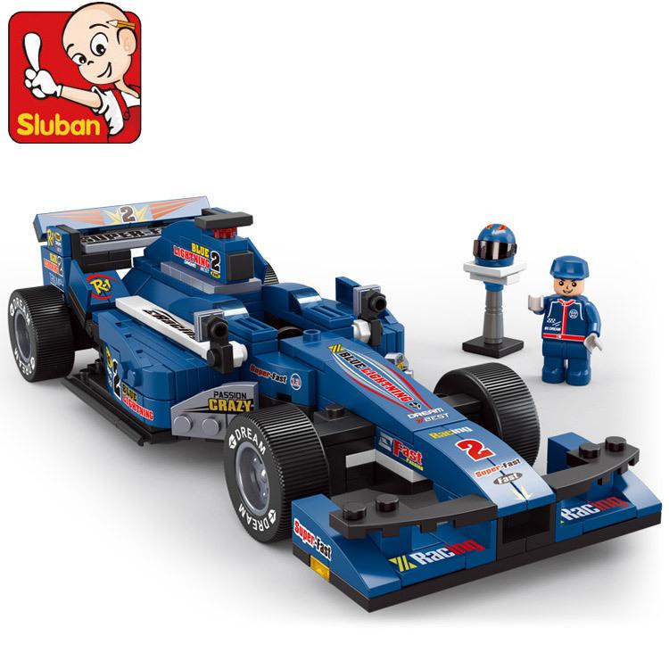 Playmobil Racing Car Blue