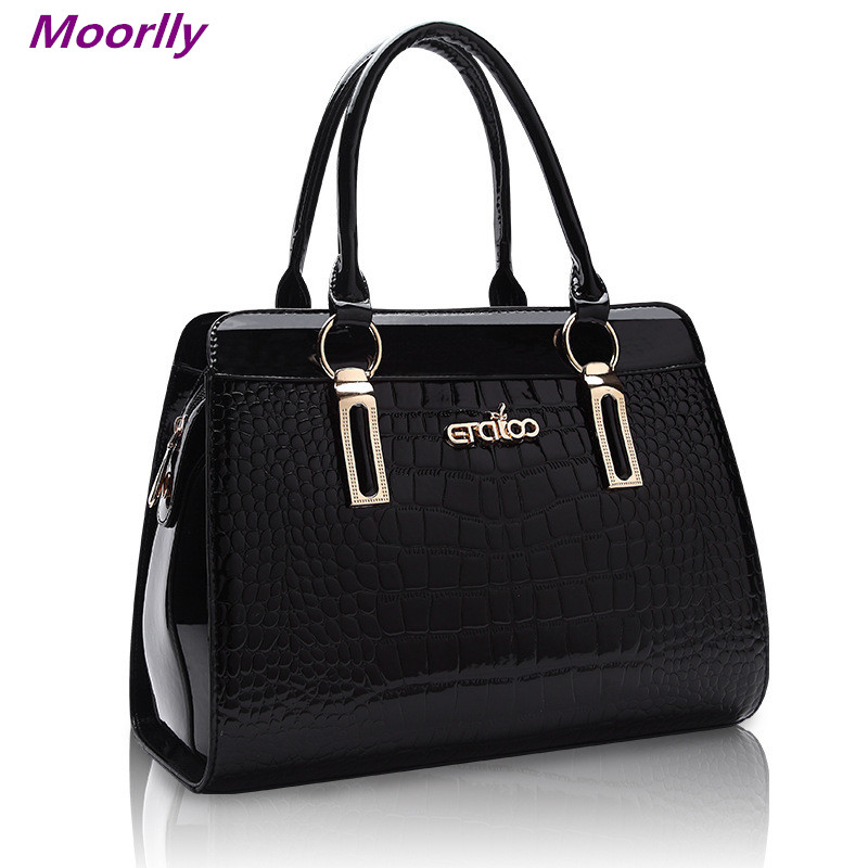 Moorlly 2015 New 5 Color Embossing Women crossbody shoulder bag Luxury Women messenger bag Fashion Mom handbag Brand Women tote(China (Mainland))